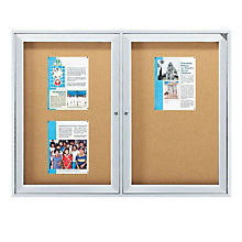 Enclosed Bulletin Board 8'W x 4'H, 8804198