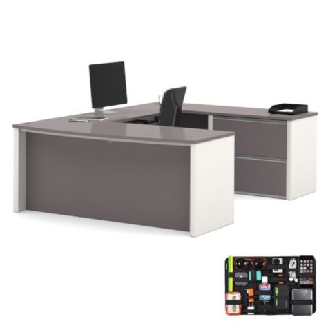 Includes Grid-It desk organizer