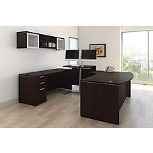 U-Desk with Standing Return Left or Right Return, 8826849
