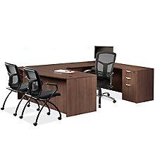 Bow Front Corner Extension U-Desk - Left or Right Return, 8827453