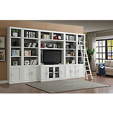 Entertainment Wall w/ Ladder, 8827487