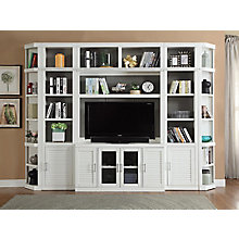 Entertainment Library Wall w/ Corner Ends, 8827489