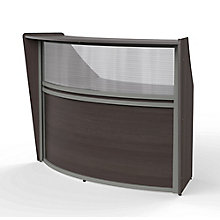 Curved Reception Station with Plexi-Panel, 8827522