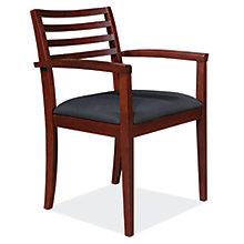 4-Slat Back Guest Chair w/Basic Fabric, 8827540