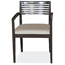 5-Slat Back Guest Reception Chair w/ Basic Fabric, 8827541