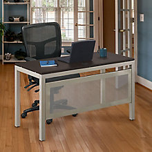 Table Desk with Modesty Panel and Chair Set, 8828740