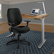 "Adjustable Height 48""x24"" Desk and Chair Set, 8828800"