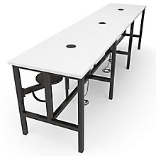 Endure Standing Height Table with Six Swivel Seats , 8827780