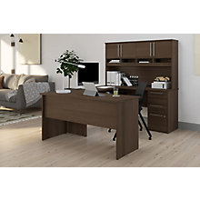U Desk with Hutch, 8828744