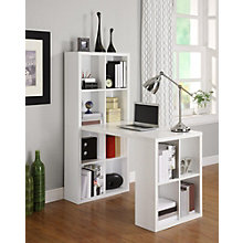 "London 12 Shelf Bookcase Desk - 47.5""W, 8807688"
