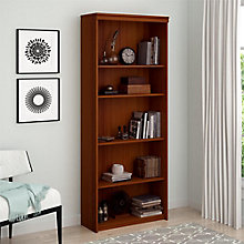 "Presley 5 Shelf Bookcase -28""W, 8822158"