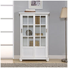 "Aaron Lane Bookcase with Sliding Door - 31""W, 8822160"