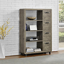 "Eastlin Bookcase with Bins - 36""W, 8822166"