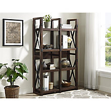 "Wildwood Wood Veneer Ladder Bookcase - 36""W, 8822152"