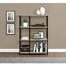 "Elmwood Three Shelf Bookcase - 44.7""H, 8807683"