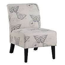 Lily Armless Fabric Accent Chair, 8805191