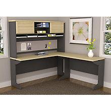 L Desk Bundle w/hutch, 8822209