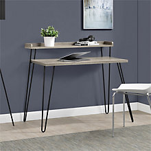 "Haven Compact Desk with Riser - 44.7""W, 8807687"