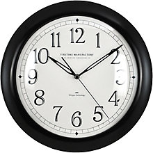 "Contemporary Wall Clock with Whisper Technology - 11"", 8813484"