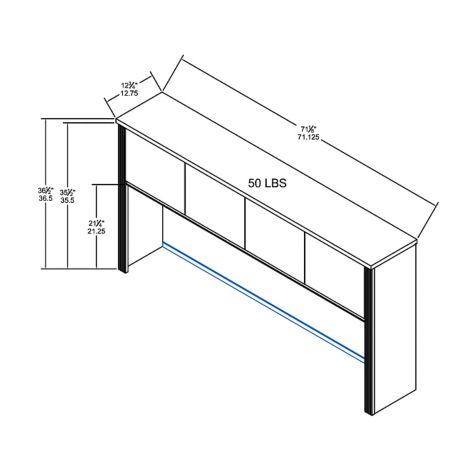 Hutch overall dimensions