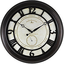 "Oversized Aged Wall Clock - 22.5"", 8813483"