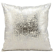 "kathy ireland by Nourison Metallic Snake Skin Accent Pillow - 18""W x 18""H, 8803814"