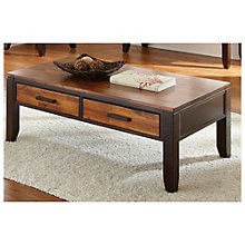 Abaco Two Drawer Rectangular Coffee Table, 8806904