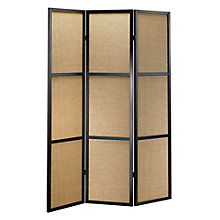 "Bamboo Folding 52""W x 70""H Partition, 8801941"