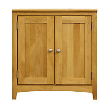 "Solid Wood Two Drawer Storage Cabinet - 28.5""W, 8824037"
