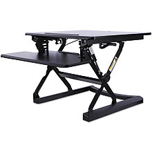 "Sit Stand 30""W Height Adjustable Workstation, 8813427"