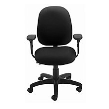 Petite Fabric Ergonomic Task Chair, ALS-52240-AT