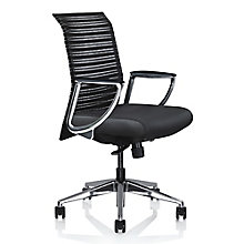 Zip Fabric Modern Conference Chair, 8813831