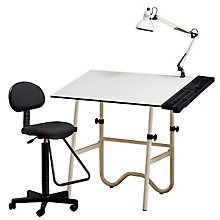 Four-Piece Drafting Set with Drafting Stool, ALV-CC2001E