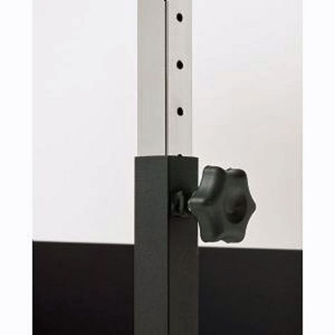 "Easy-to-adjust height mechanism - 1"" increments"