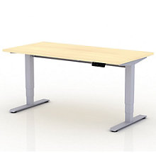"EZ Lift Compact Sit-to-Stand Height Adjustable Desk - 48""W, 8804132"