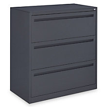 "Ogden 42""W Three Drawer Lateral File, 8827768"