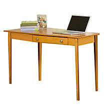 "Shaker Solid Wood Desk with Left Wedge - 56""W, 8824024"