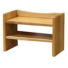 """Solid Wood Two Shelf Hutch - 28""""W, 8824040"""