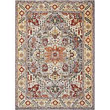 "Persian Bordered 5'3"" x 7'3"", 8820163"