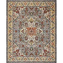 "Persian Bordered 7'10"" x 10', 8820164"
