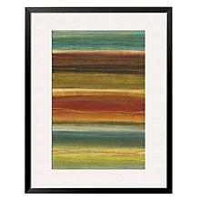 "Framed 32"" x 43"" Organic Layers Print by Jeni Lee, ARS-10399"