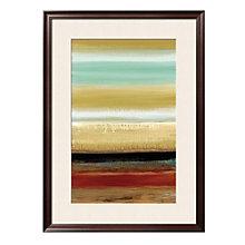 "Framed 32"" x 43"" Horizon Lines Print by Catherine Tesla, ARS-10401"