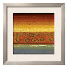 "Framed 27"" x 27"" Alegre Print by Selina Werbelow, ARS-10403"