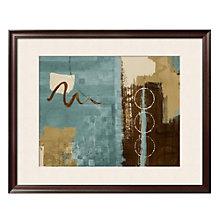 """Framed 37"""" x 31"""" Wonder Print by Lanie Loreth, ARS-10407"""