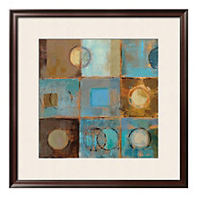"Framed 32"" x 32"" Pass Way Print by Silvia Vassileva, ARS-10410"