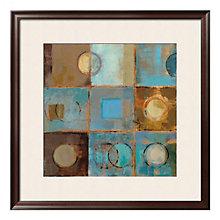 "Framed 32"" x 32"" Pass Way Print by Silvia Vassileva, ARS-10410"