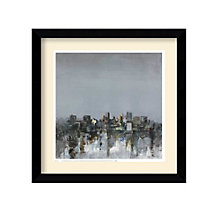 Framed Art Print- City Trance II by Kemp, 8801430