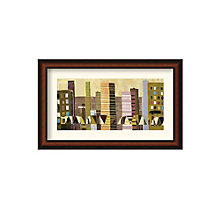 Framed Art Print- Growing Up Stepping Stones by Christopher Bibby, 8801431