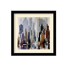 Framed Art Print- Urbania I by Robert Seguin, 8801432