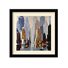 Framed Art Print- Urbania II by Robert Seguin, 8801433